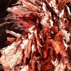 Déchets Feuillets cuivre-aluminium