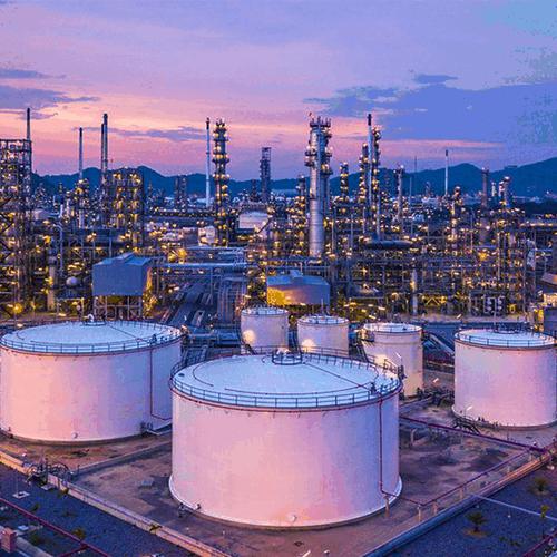Photo représentative de l'industrie pétrochimique