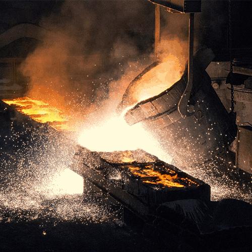 Photo représentative de l'industrie pyrometallurgique